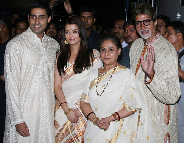 family of Amitabh Bachchan