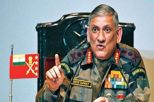 Army chief Bipin Rawat Biography of Army chief Bipin Rawat!