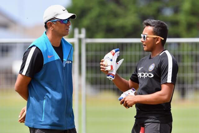 Prithvi Shaw Coach