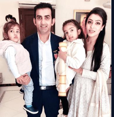 Family of Gautam Gambhir