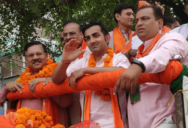 gautam gambhir in Bharatiya Janata Party