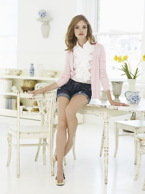 Supermodel Natalia Vodianova