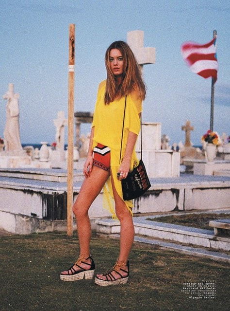 Model Camille Rowe