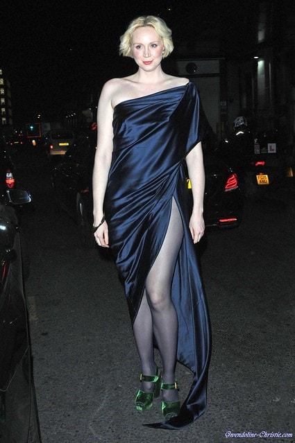 Actress Gwendoline Christie