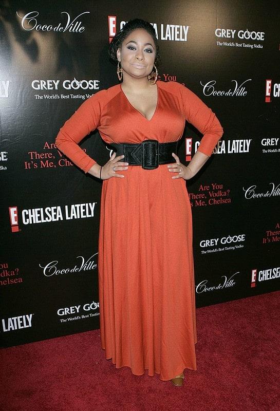Actress Raven-Symoné