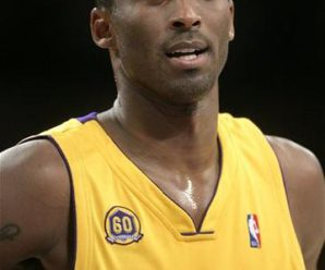 American Professional Basketball Player Kobe Bryant