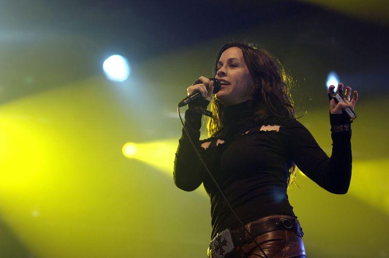 Canadian - American Actress, Singer Alanis Morissette