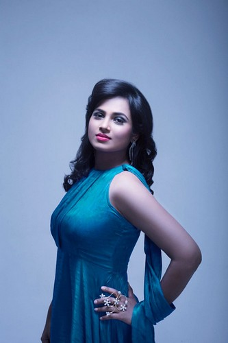 Indian Actress Ramya Pandian