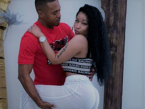 Kenneth Petty and Nicki Minaj