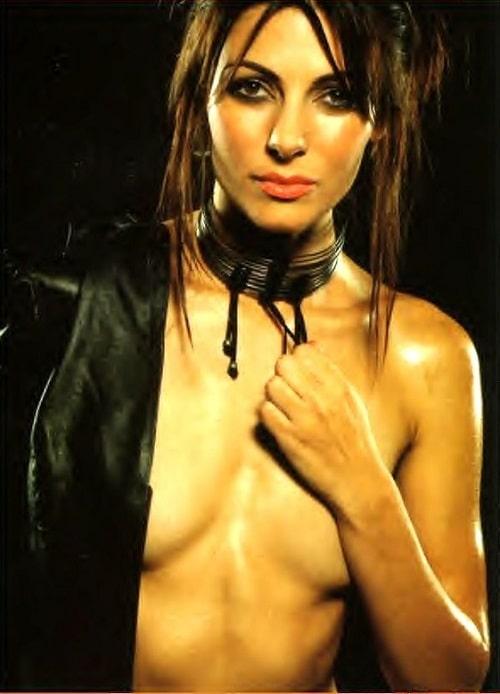 Actress Silvia Colloca