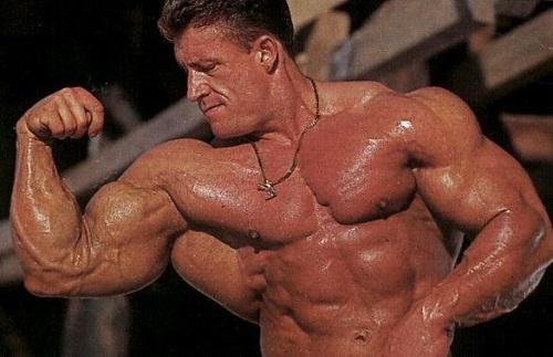 Bodybuilder Dorian Yates