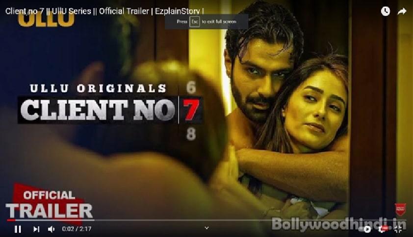 "Hindi Web Series ""Client No. 7"" Reviews –All Seasons, Episodes & Cast"